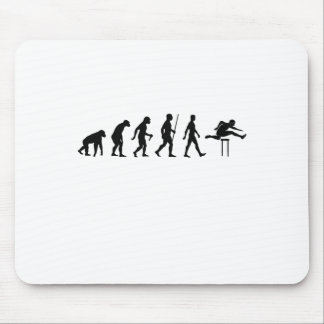 Hurdles Evolution ~ Track and Field Tees.png Mouse Pad