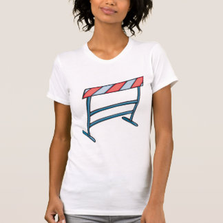 Hurdles Womens T-Shirt