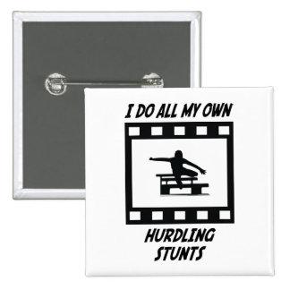 Hurdling Stunts Pins