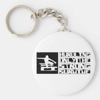 Hurdling Survive Keychain