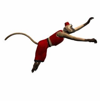 Hurdy Gurdy 3D Music Monkey 10 Statuette