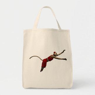 Hurdy Gurdy 3D Music Monkey 10 Tote Bag