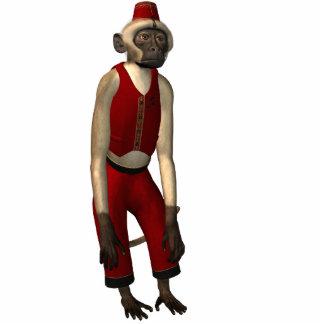Hurdy Gurdy 3D Music Monkey 11 Cutout