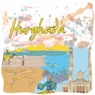 Hurghada Acrylic Cut Out