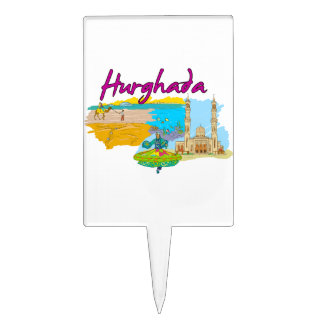 Hurghada - Egypt.png Cake Topper