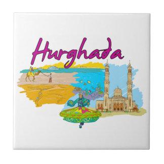 Hurghada - Egypt.png Ceramic Tile