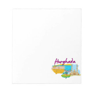 Hurghada - Egypt.png Memo Notepads