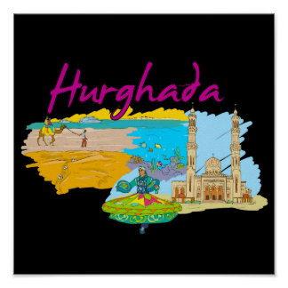 Hurghada - Egypt.png Poster