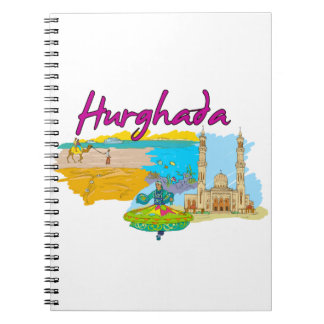 Hurghada - Egypt.png Spiral Note Book