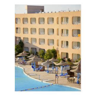 Hurghada hotel postcard