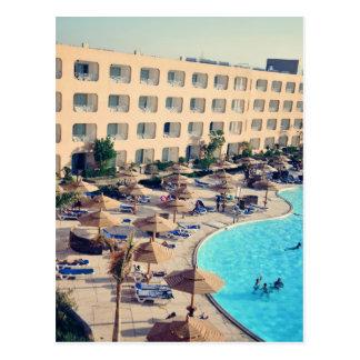 Hurghada hotel resort postcard