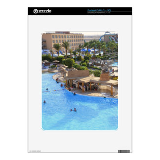 Hurghada hotel resort. iPad decals