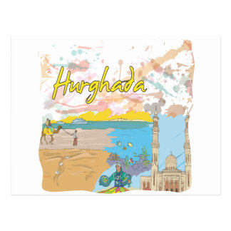 Hurghada Postcard