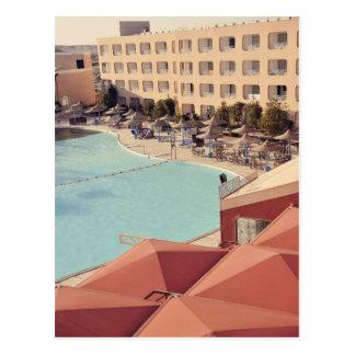 Hurghada resort postcard