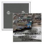 Huricane Sandy y reconstrucción de la orilla del j Pin