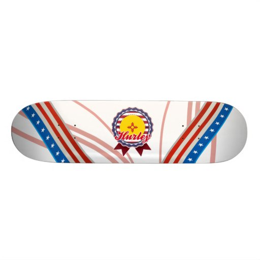 Hurley, NM Skateboard Deck