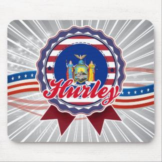 Hurley NY Tapetes De Ratón