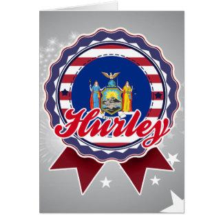 Hurley, NY Felicitacion