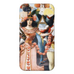 Hurly-Burly Extravaganza and Refined Vaudeville iPhone 4/4S Covers