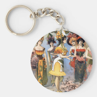 Hurly-Burly Extravaganza and Refined Vaudeville Keychains