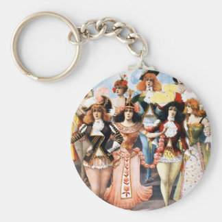 Hurly-Burly Extravaganza and Refined Vaudeville Keychain