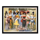 Hurly-Burly Extravaganza and Refined Vaudeville Post Cards