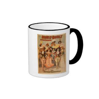 Hurly-Burly Extravaganza Theatre Poster Ringer Coffee Mug