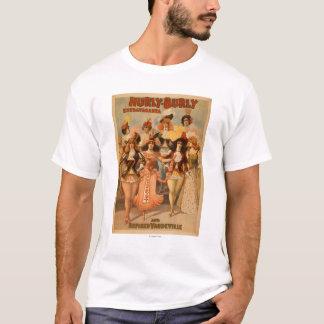 Hurly-Burly Extravaganza Theatre Poster T-Shirt