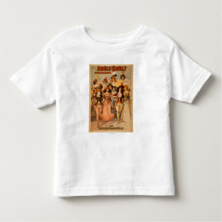 Hurly-Burly Extravaganza Theatre Poster Toddler T-shirt