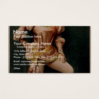 Hurly Burly, 'Sylvia Thorne' Retro Theater Business Card