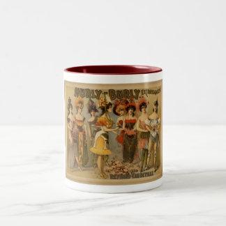 """Hurly Burly"" Two-Tone Coffee Mug"