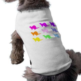 Hurón 4 camisetas de perro