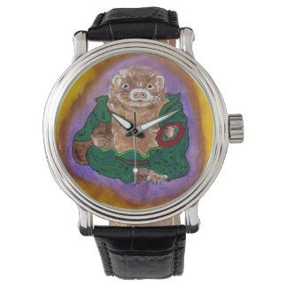 hurón Buda Relojes
