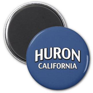 Huron California 2 Inch Round Magnet