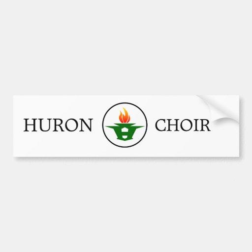 Huron High Choir Car Bumper Sticker