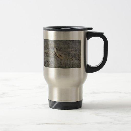 Hurón Negro-Con base Taza De Café
