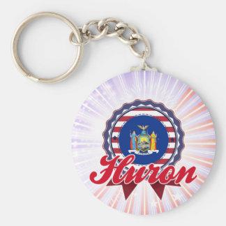 Huron, NY Keychains