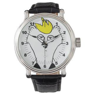 Hurón perplejo relojes de pulsera