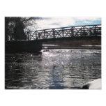 Huron River Bridge Photo Print