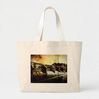 Huron River Dam Tote Bag
