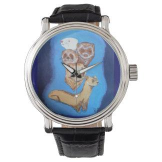 hurónes a montones relojes de mano