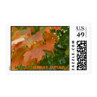 HURRAY AUTUMN STAMPS