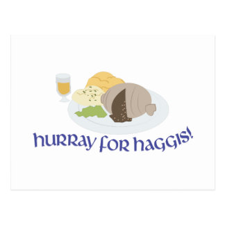 Hurray For Haggis! Postcard