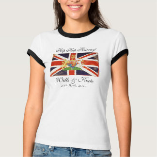 Hurray for Wills and Kate T-Shirt
