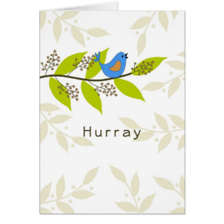 Hurray-Last Radiation Treatment Card