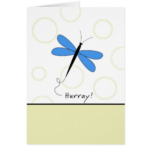 Hurray - Last Round of Chemo Card