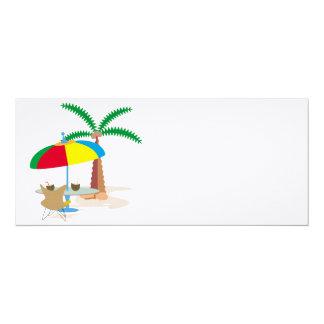 Hurray, vacation! card