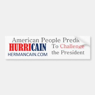 hurricain Challenge BS Bumper Stickers