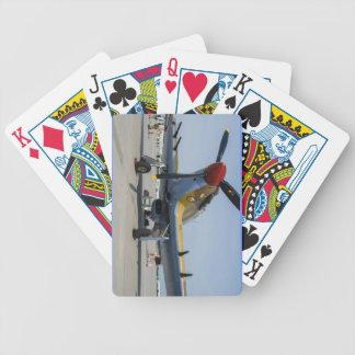 hurricane airplane bicycle playing cards