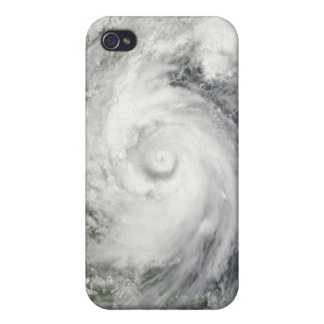 Hurricane Alex over the western Gulf of Mexico iPhone 4 Case